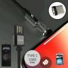สายชาร์จ WK Magnet Cable Type C Attraction WDC-046 สีดำ