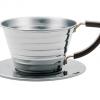 Kalita ถ้วยกาแฟดริป รุ่น 155 dripper stainless steel ขนาด 1-2 cup