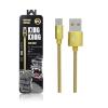 สายชาร์จ WK KingKong WDC-013 Micro USB สีทอง