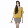เสื้อให้นม Phrimz : Cindy Breastfeeding Top - Mustard