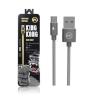 สายชาร์จ WK KingKong WDC-013 Micro USB สีเงิน