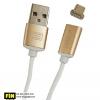 สายชาร์จแม่เหล็ก Earldom Magnetic Micro USB Cable สีทอง