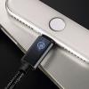 สายชาร์จถัก Joyroom S-Q4 Breathing Lamp iPhone 2 เมตร สีดำ