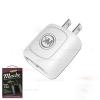 Adapter WK 2.1A 2 USB WP-U10 Mache สีขาว
