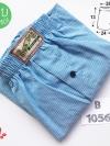 กางเกงบ๊อกเซอร์สีฟ้า กางเกงในชายสีฟ้าสีอ่อน