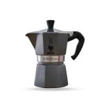 Bialetti หม้อต้ม กาแฟสด รุ่น Moka Express Emotion ขนาด 3 cup (สีเทา)