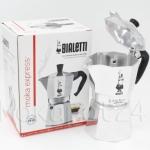 Bialetti หม้อต้มกาแฟสด รุ่น Moka Express ขนาด 4 cup (สีเงิน)