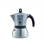 Bialetti หม้อต้มกาแฟสด รุ่น Moka Induction ขนาด 3 cup (สีเงิน) ใช้ได้กับเตาแม่เหล็กไฟ้ฟ้า นำเข้า อิตาลี แท้