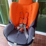 คาร์ซีท Aprica รุ่น Grand Bed สีส้ม-เทา รหัสสินค้า CS0024