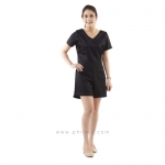 ชุดให้นม Phrimz : Daiana breastfeeding jumpsuit - Black สีดำ