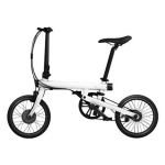 จักรยานพับไฟฟ้า QiCycle - สีขาว ฟรีชุดขาตั้ง+บังโคลน (พร้อมส่ง)