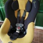 คาร์ซีทมือสอง Combi รุ่น Zeus Turn สีเหลือง-เทา รหัสสินค้า : S0038