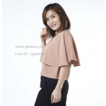 เสื้อให้นม Phrimz : Ivie Breastfeeding Top - Cappuccino