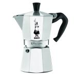 Bialetti หม้อต้มกาแฟสด รุ่น Moka Express ขนาด 6 cup (สีเงิน)