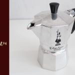 ชงกาแฟสด ด้วย หม้อต้มกาแฟ moka pot รุ่น express 3 cup