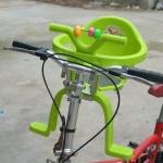 ที่นั่งเสริมจักรยานสำหรับเด็ก (สีเขียว)