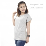 เสื้อให้นม Phrimz : Franki Breastfeeding Top - Light Gray