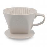 Kalita ถ้วยกาแฟดริป รุ่น 102 Ceramic Dripper white ขนาด 2-4 cups (สีขาว)