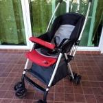 รถเข็นเด็ก Goodbaby สีดำ-แดง-เทา รหัสสินค้า SL0073