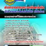 แนวข้อสอบ นักวิชาการตรวจสอบเงินแผ่นดิน (ดำเนินงาน) สำนักงานการตรวจเงินแผ่นดิน