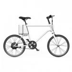 จักรยานไฟฟ้าทรงผู้ชาย Yunbike C1 - สีขาว (Pre-Order)