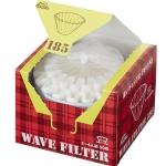 Kalita filter กระดาษกรองดริป รุ่น 185 dripper 50 แผ่น สีขาว