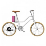 จักรยานไฟฟ้าทรงผู้หญิง Yunbike C1 - สีขาว (Pre-Order)