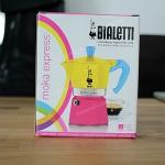 Bialetti Moka Express Expo Edition 2015 ขนาด 3 cups (สีเหลือง-ชมพู)
