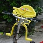 ที่นั่งเสริมจักรยานสำหรับเด็ก (สีเหลือง)