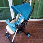 รถเข็นเด็ก Combi รุ่น Mechacal Handy สีฟ้า รหัสสินค้า SL0051