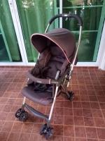 รถเข็นเด็ก Combi รุ่น Mechacal first สีม่วง รหัสสินค้า SL0062