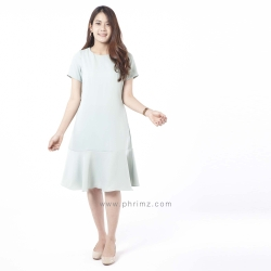 ชุดให้นม Phrimz : Mermaid Breastfeeding Dress - ฺPeppermint