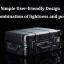 """(พร้อมส่ง) Xiaomi 90 Smart Metal Travel Suitcase 20"""" - กระเป๋าเดินทางล้อลากเหล็กอัจฉริยะ ขนาด 20 นิ้ว (รุ่นบูลทูธ) thumbnail 18"""
