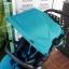 รถเข็นเด็กมือสอง Pigeon Pattan สีฟ้าเขียว รหัส SL0076 thumbnail 2