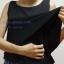 เสื้อให้นม Phrimz : Belle breastfeeding top - Midnight สีดำ thumbnail 5