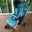 รถเข็นเด็ก Aprica รุ่น QL 193 สีฟ้าเบาะผ้าซาติน รหัสสินค้า : C0041 thumbnail 4