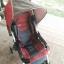 รถเข็นเด็กมือสอง Combi สีแดง คาดเทาดำ รหัสสินค้า :C0010 thumbnail 3