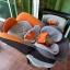 คาร์ซีท Aprica รุ่น Grand Bed สีส้ม-เทา รหัสสินค้า CS0035 thumbnail 7