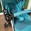 รถเข็นเด็ก Aprica รุ่น QL 193 สีฟ้าเบาะผ้าซาติน รหัสสินค้า : C0041 thumbnail 9