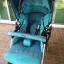 รถเข็นเด็ก Aprica รุ่น QL 193 สีฟ้าเบาะผ้าซาติน รหัสสินค้า : C0041 thumbnail 5