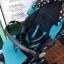 รถเข็นเด็กมือสอง Pigeon Pattan สีฟ้าเขียว รหัส SL0076 thumbnail 14