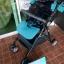 รถเข็นเด็กมือสอง Pigeon Pattan สีฟ้าเขียว รหัส SL0076 thumbnail 12