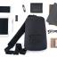 Xiaomi Multifunctional Urban Leisure Chest Pack - กระเป๋าเป้สะพายข้าง รุ่นเออร์เบิน สีเทา thumbnail 7