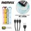 สายชาร์จ Remax 3 in 1 Lesu RC-050TH