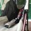 รถเข็นเด็กมือสอง Aprica Stick สีดำ-ชมพู รหัสสินค้า : C0068 thumbnail 15