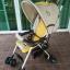 รถเข็นเด็ก Combi รุ่น Well Flat สีครีม-เหลือง รหัสสินค้า : C0039 thumbnail 2