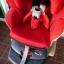 คาร์ซีทมือสอง Aprica Marshmallow สีแดง + หมวก รหัส CS0071 thumbnail 4