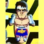"""ล้มลุกมวยไทย World's wrestler3D (36"""")"""