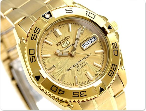 7a59f3fc4 นาฬิกาผู้ชาย Seiko รุ่น SNZB26J1, Seiko 5 Sports Automatic Japan Made Men's  Watch